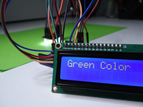 Interfacing of Color Detecting sensor TCS3200 with Arduino UNO