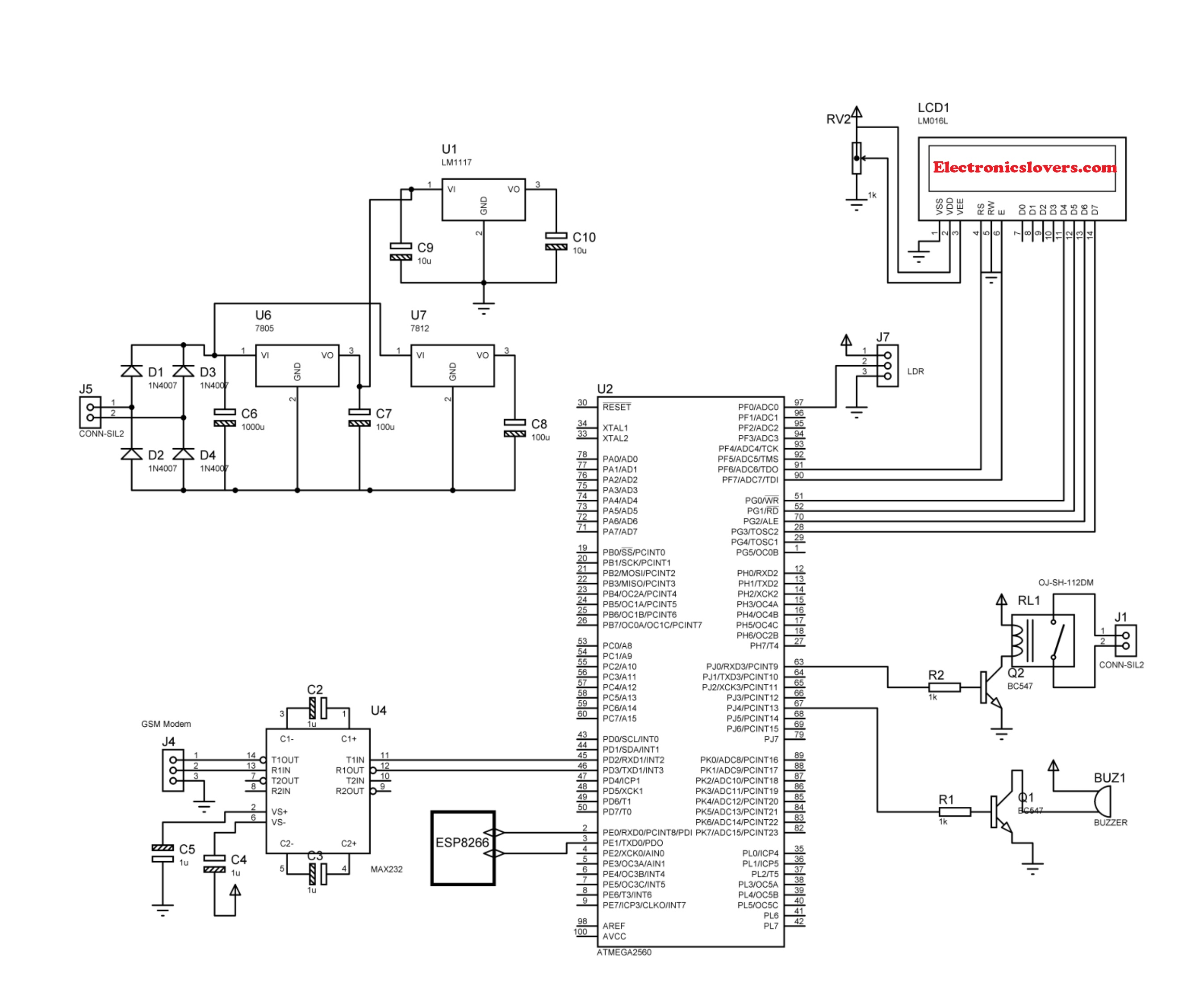 Smart Home Automation And Energy Management Final Year Project Wiring Diagram Door Schematic