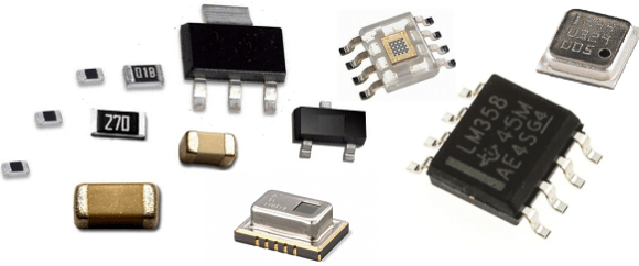 Surface Mount Electronic Components and their Types