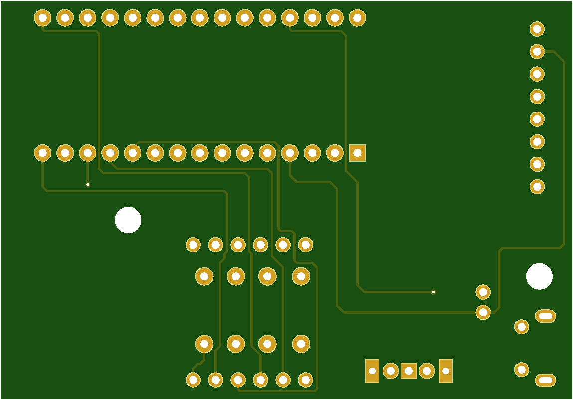 Digital spirit module PCB Top View