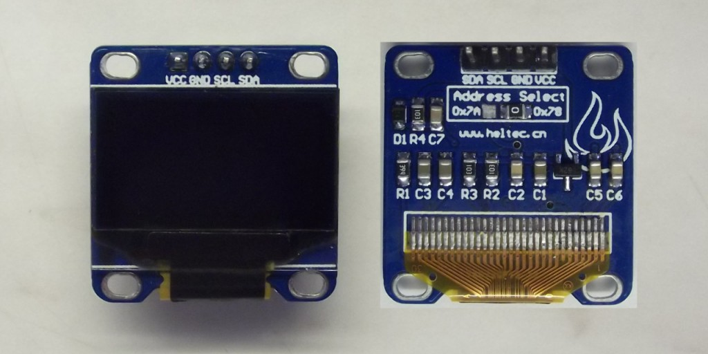 Interacting with an OLED Display via an I2C Bus system   Diy