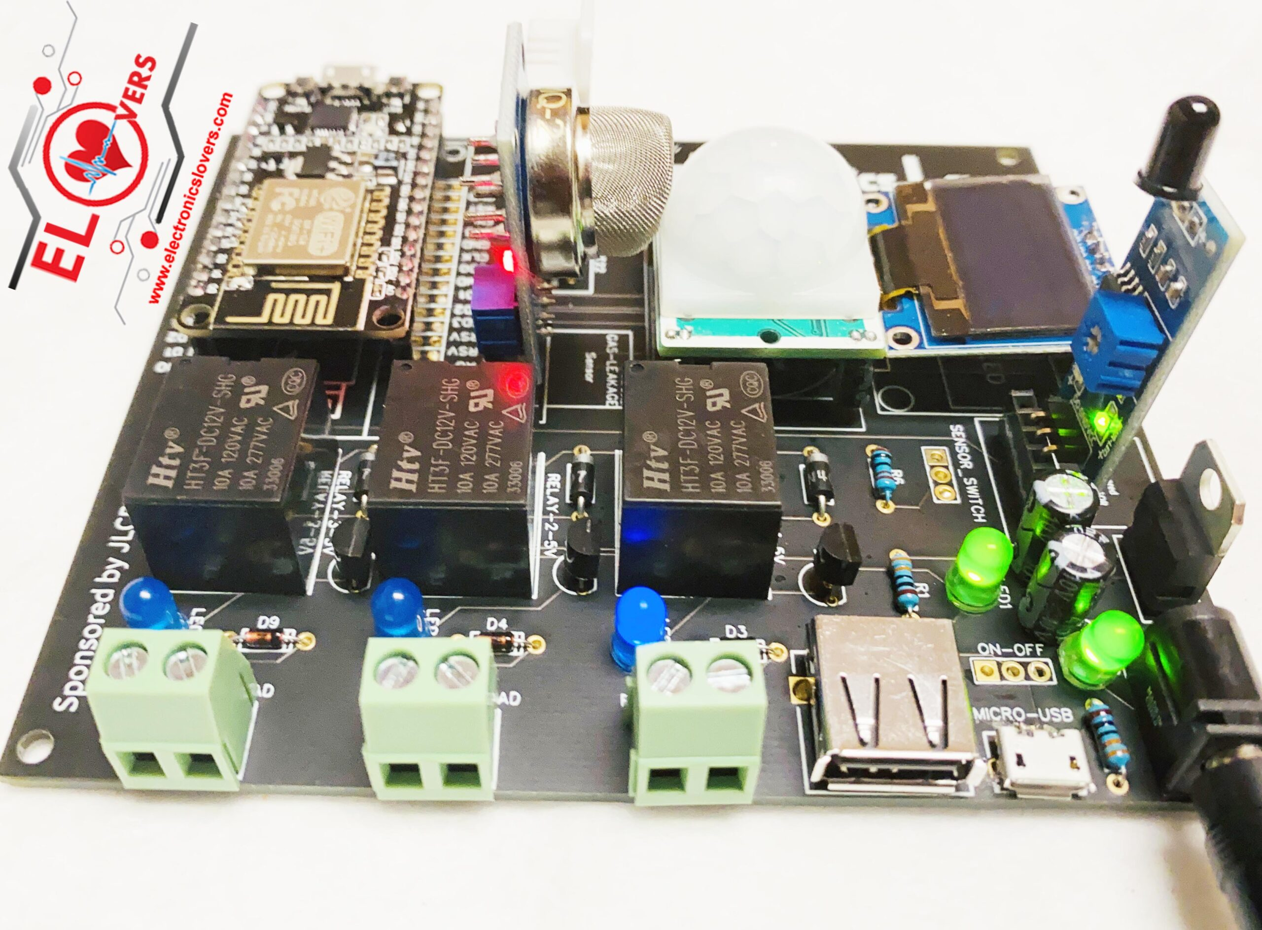 ElectronicsLovers ZERO-IoT-Development Board