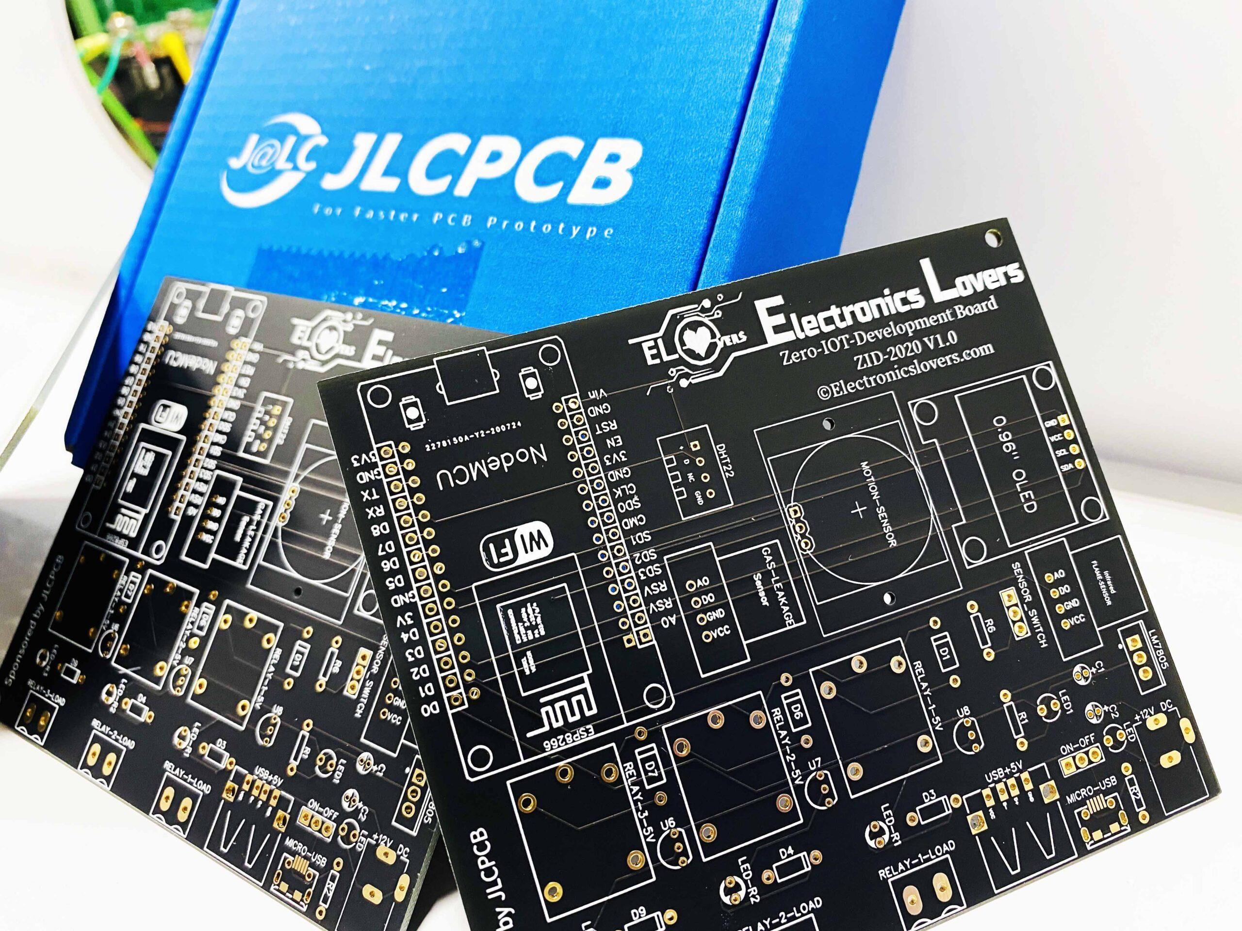 ElectronicsLovers ZERO-IoT-Development Board – ZID-2020