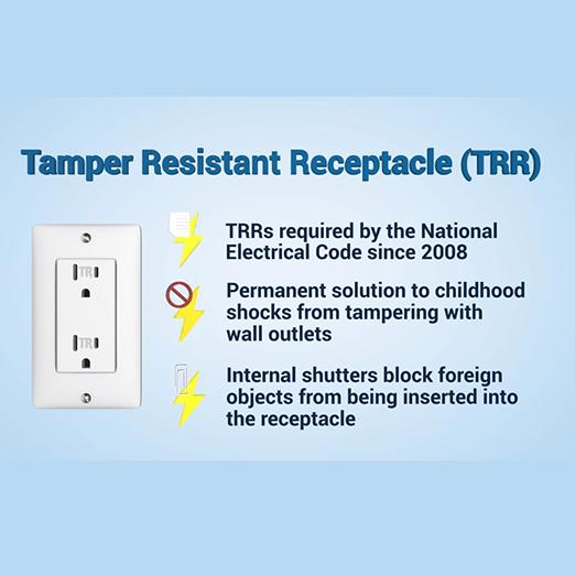 Image of Tamper Resistant Receptacle